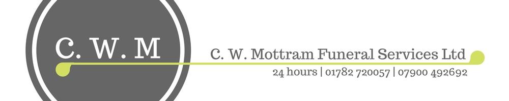 C. W. Mottram Funeral Services Ltd., site logo.
