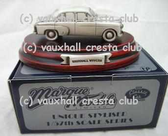 VAUXHALL PEWTER MODEL