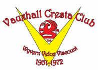 Vauxhall Cresta Club, site logo.