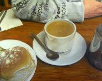 Happy Hoodie Takes Tea