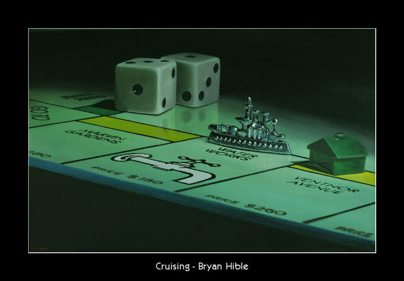 Cruising (laminated print)