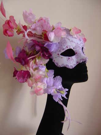sweetpea venetian mask