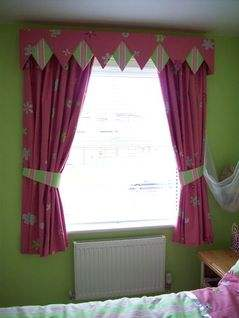 Pink Lime Green Curtains S Bedroom