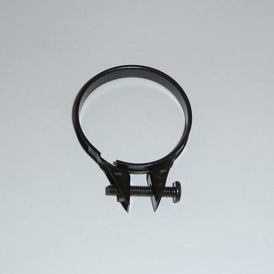 CLAMP, MUFFLER COVER, FRONT - RG500.  CARB RUBBER - RG250