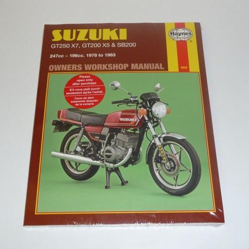 haynes workshop manual suzuki 469 gt250 x7 gt200 x5 sb200 rh discountbikespares co uk Suzuki GT250 Green Color Suzuki GT750