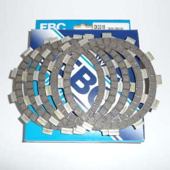PLATE SET, CLUTCH FRICTION, GT125, RM80
