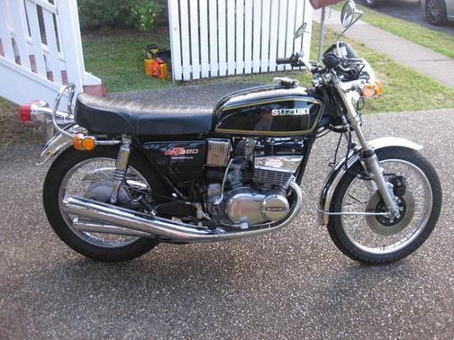 SUZUKI GT380 BLK2