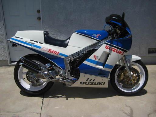 SUZUKI RG500 GAMMA MC
