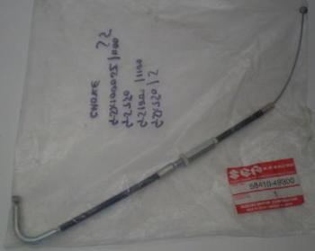 CABLE, CHOKE - GSX1100S, GSX1000S, GSX750S