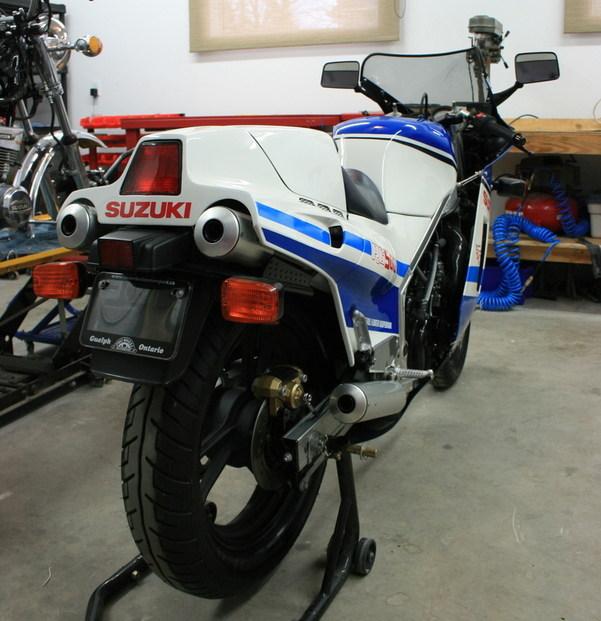 Suzuki RG500 Gamma rw1