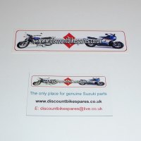 DISCOUNTBIKESPARES MAGNET & STICKER SET
