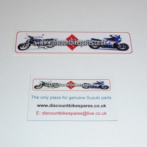 FREE DISCOUNTBIKESPARES MAGNET & STICKER SET