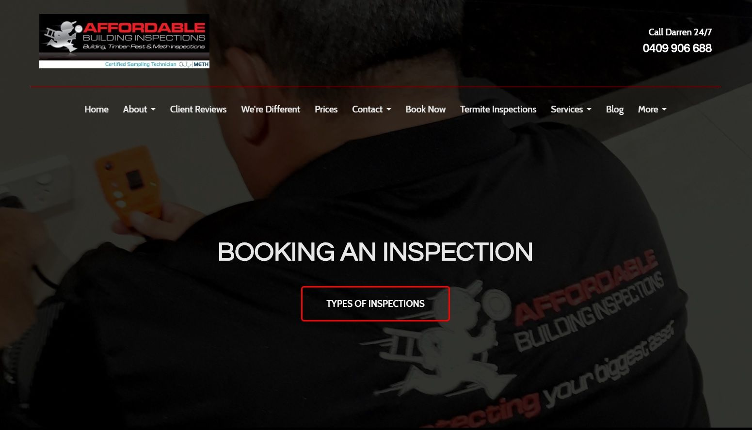 Home Inspection Web Design Mandurah