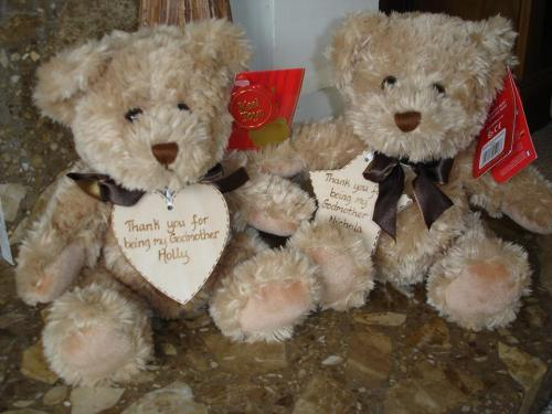 Personalised Teddy Bear Sherwood