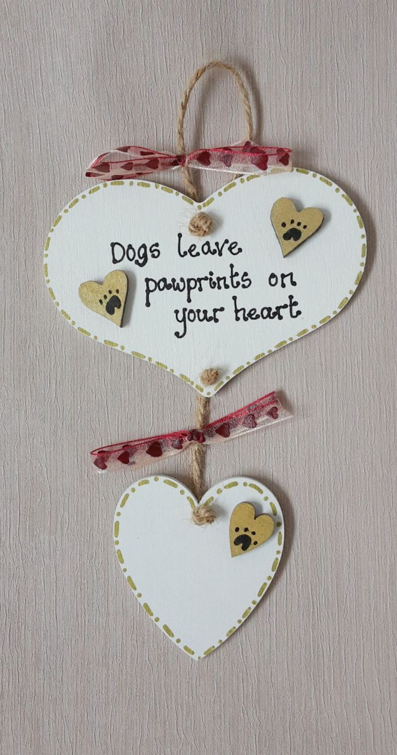 Personalised Dogs leave paw prints on our hearts