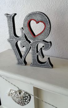 Freestanding Love Sign