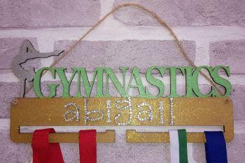 Gymnastics medal holder