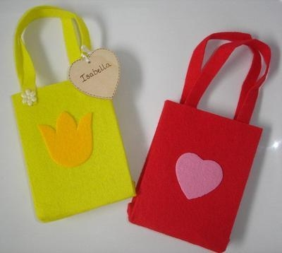 Personalised Felt Bag