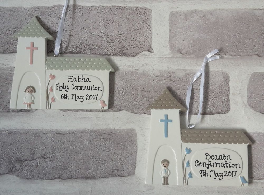 <!-- 001 -->Personalised Christening, Confirmation or Communion gift