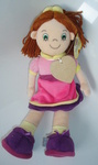 Personalised 'Sunny' Rag Doll