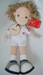 Personalised Tommy Footballer Rag Doll