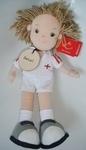 Personalised Tommy Footballer Rag Doll