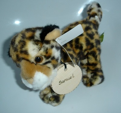 Personalised Leopard Cub