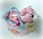 Personalised Fancy Pals pink cat
