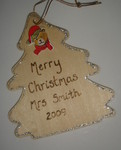 Personalised christmas decoration - teacher gift
