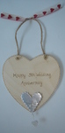 Personalised wedding anniversary gift