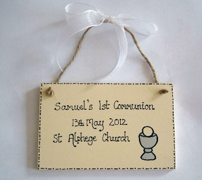 Personalised 1st Communion / Confirmation keepsake