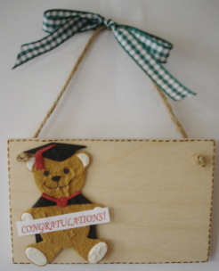 Personalised Graduation Keepsake Plaque Gift