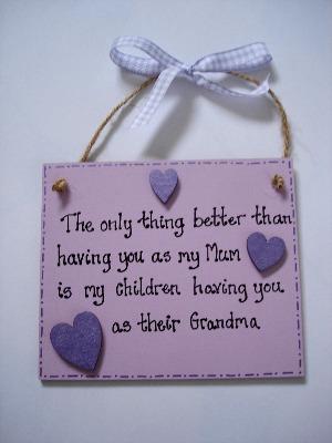 grandma, nanny, nan, granny plaque