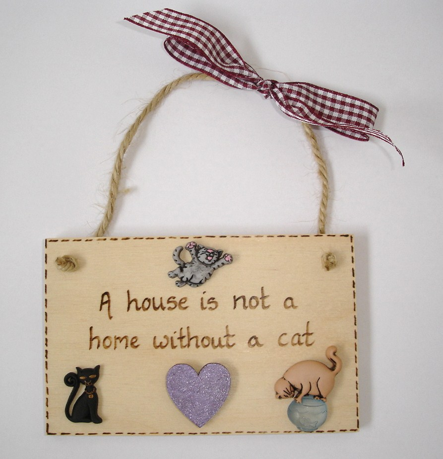House is not a home without a cat