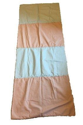 Blue/Tan 4 Pillowbeds