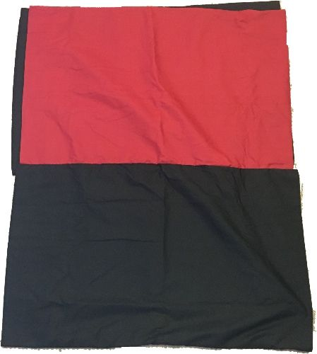 Red/black pillowcases