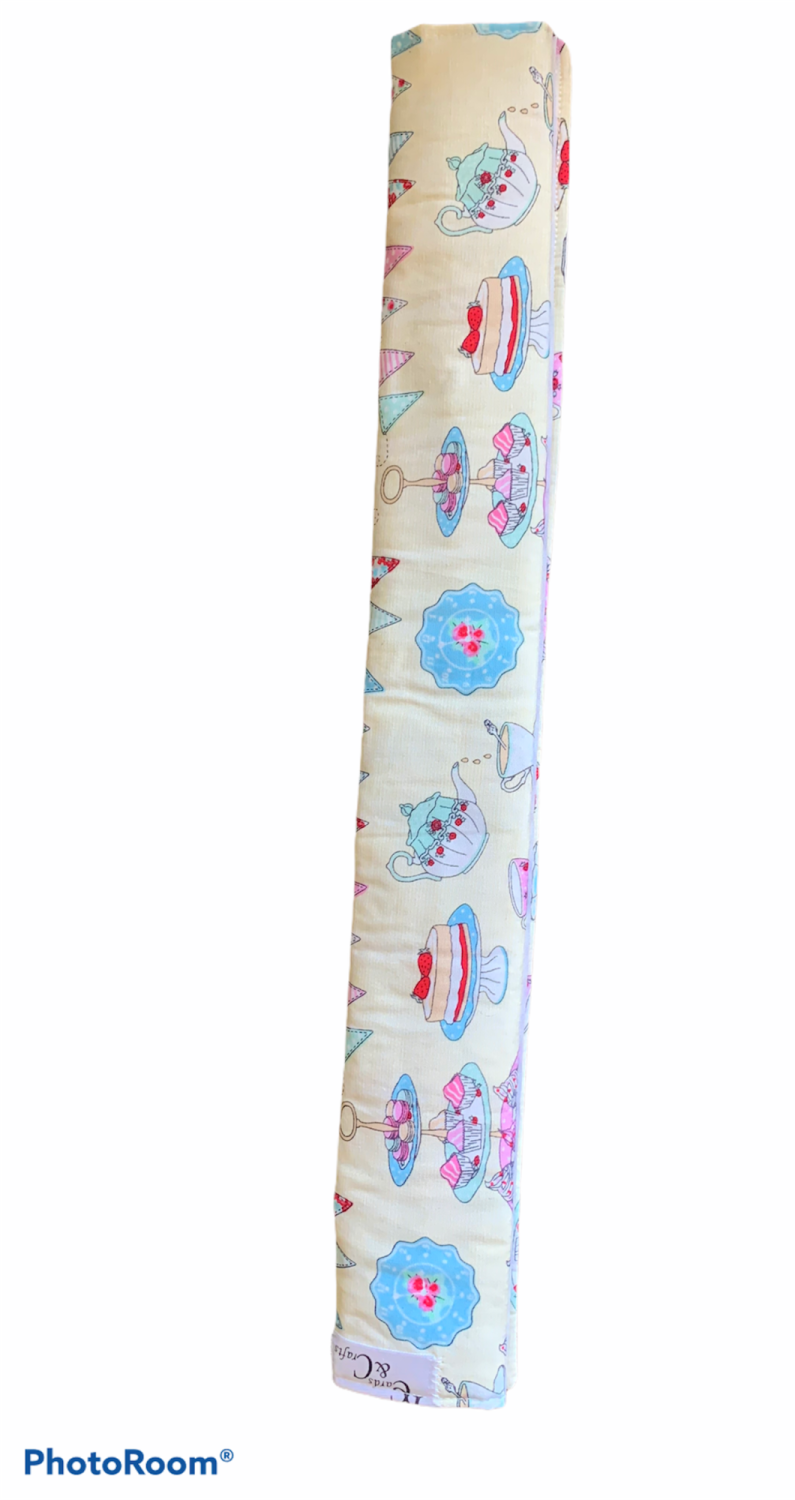 Tea cups and cakes Shopping Trolley cover
