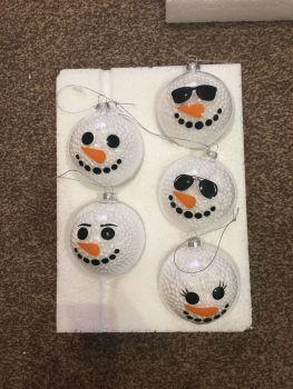 Snowmen Baubles