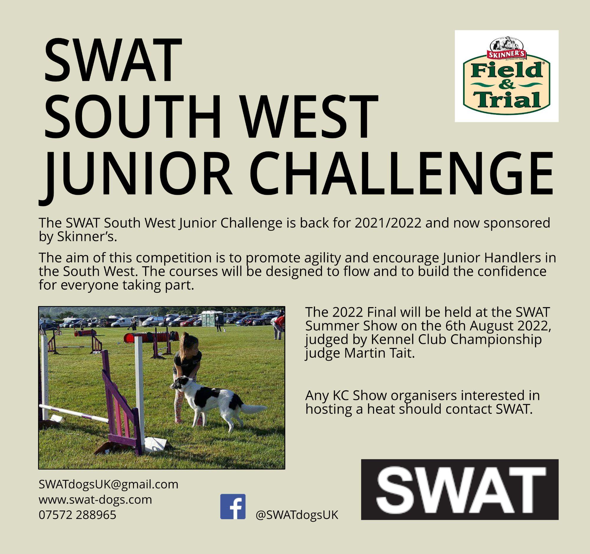 SWAT South West Junior Challenge sponsored by Skinner's