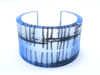 6x40 saltburn pier close pier bangle