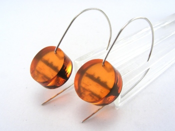 redcar circle earrings