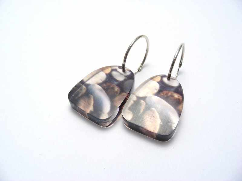 East Coast Pebbles large earrings 1