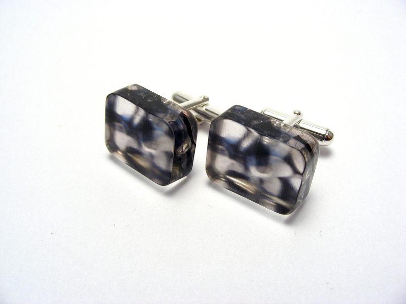 Pebbles cufflinks 1