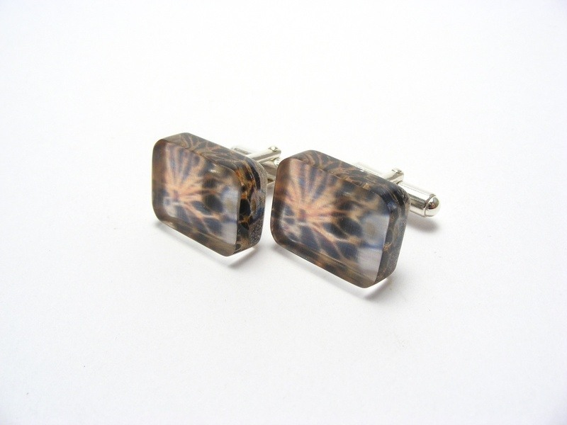 Lobster Net Cufflinks 1