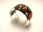6x30mm Bangle Stained Glass