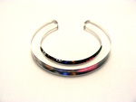10x10mm Bangle Stained Glass