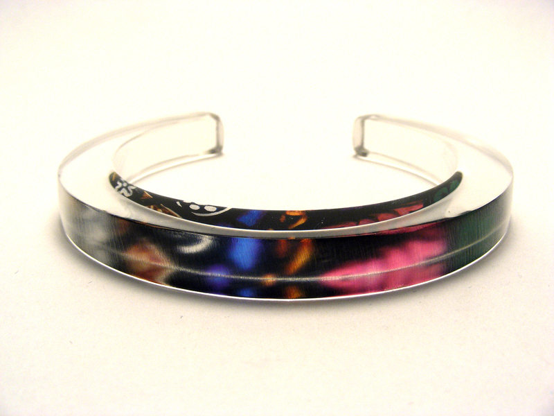10x10mm Bangle Stained Glass 2