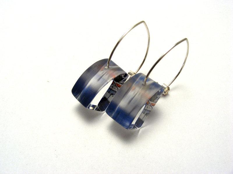 East Coast Small Earrings Boats