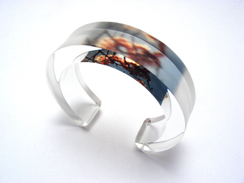 Look to the Sky 10x20mm Bangle Natural Blossom