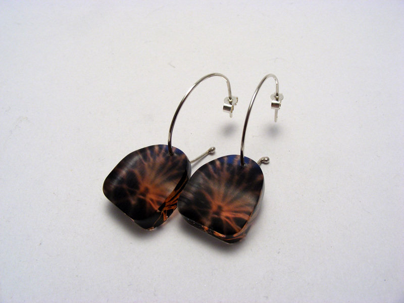 Lobster Net small earrings
